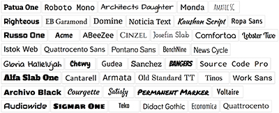 Optimized Web Fonts For Web Design
