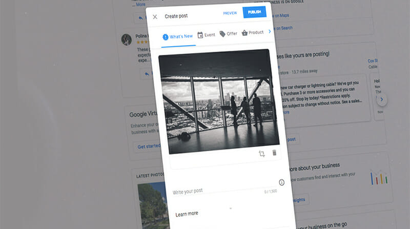 About Google Posts in Google My Business