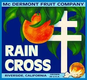 Raincross Citrus Label