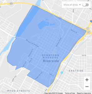Geofencing Targeting Example