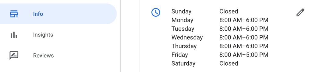Google My Business Update Hours - Coronavirus